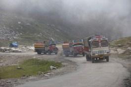 Der Leh Manali Highway - oder eher Schotterpiste