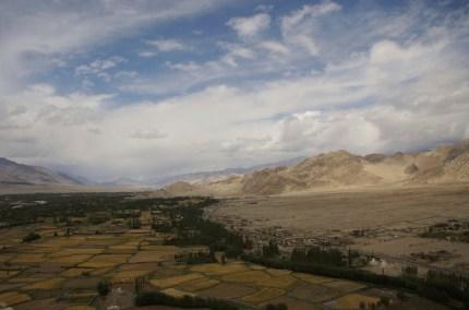 Ausblick von Thikse über das Industal