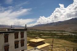 Blick über das Industal vom Kloster Spituk