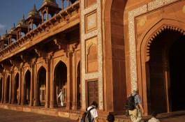Dargah Moschee bei Fatehpur Sikri