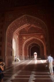 Seitengebäude am Taj Mahal