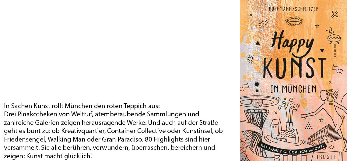 Buch Happy Kunst in München