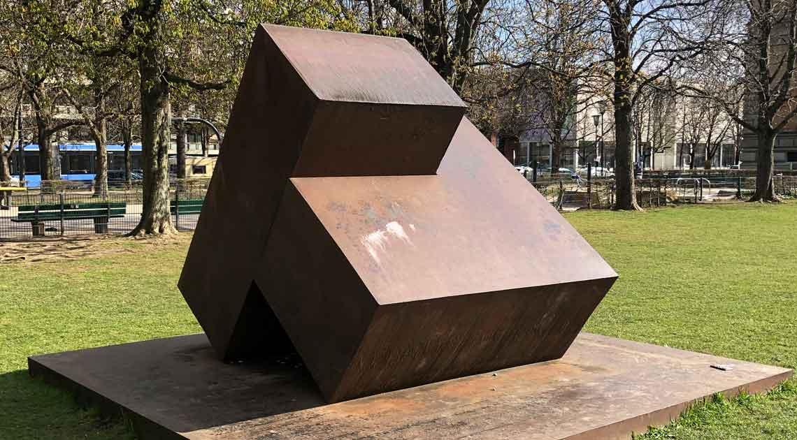 Alf Lechner Skulptur Zueinander