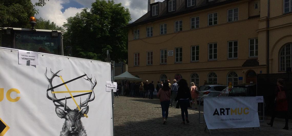 Artmuc 2017 Praterinsel München