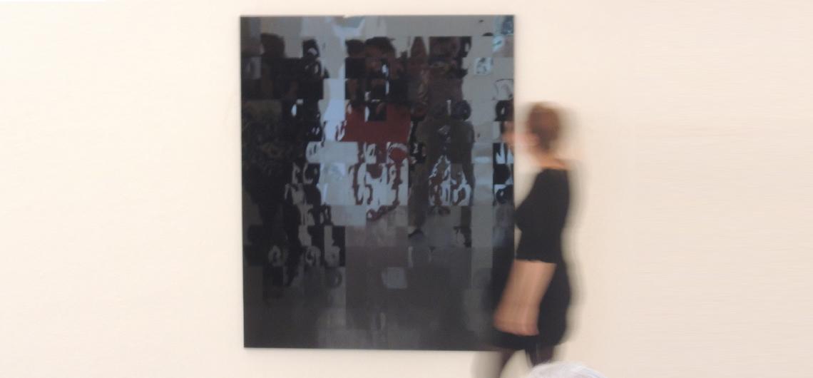 Sommergalierie Säulenhalle Julia Schewalie Anne Uhrland Kunsthandel