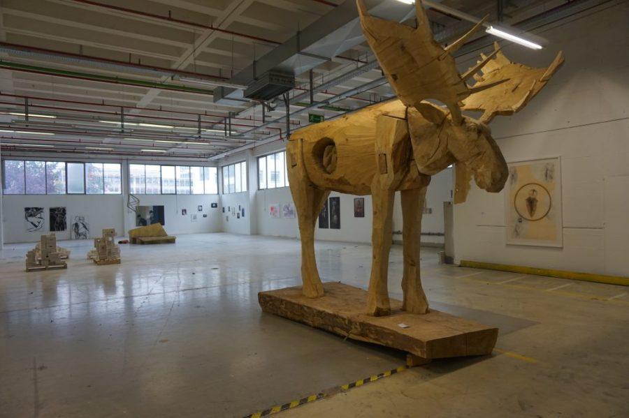 Offen Auf AEG Nürnberg copyright Lara Hoffmann unterwegsinsachenkunst christian rösner elch