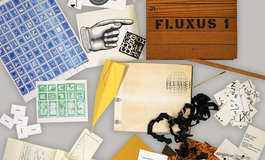 George Maciunas: Fluxus 1, 1964 | BSB/L.sel.III 38 © George Maciunas Foundation/VG Bild-Kunst, Bonn 2017