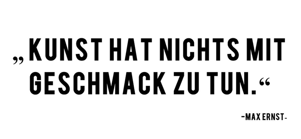Zitat Max Ernst   Unterwegs in Sachen Kunst