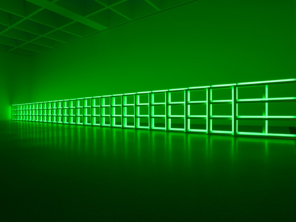Dan Flavin_untitled (to you, Heiner, with admiration and affection), 1973