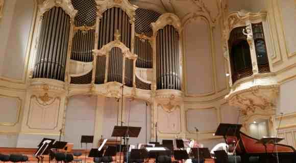 Die Orgel der Musikhalle