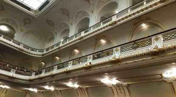 Balkone in der Laeiszhalle, Musikhalle Hamburg