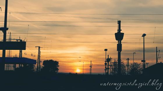 Sonnenuntergang Schlechtwetterfotografie