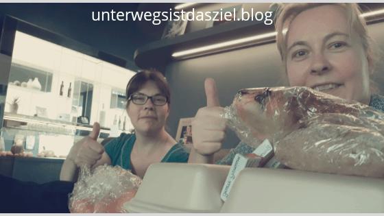 beim Abholen der Toogoodtogo Portion im Novotel Basel