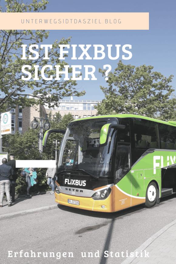 ein Flixbus an der Haltestelle