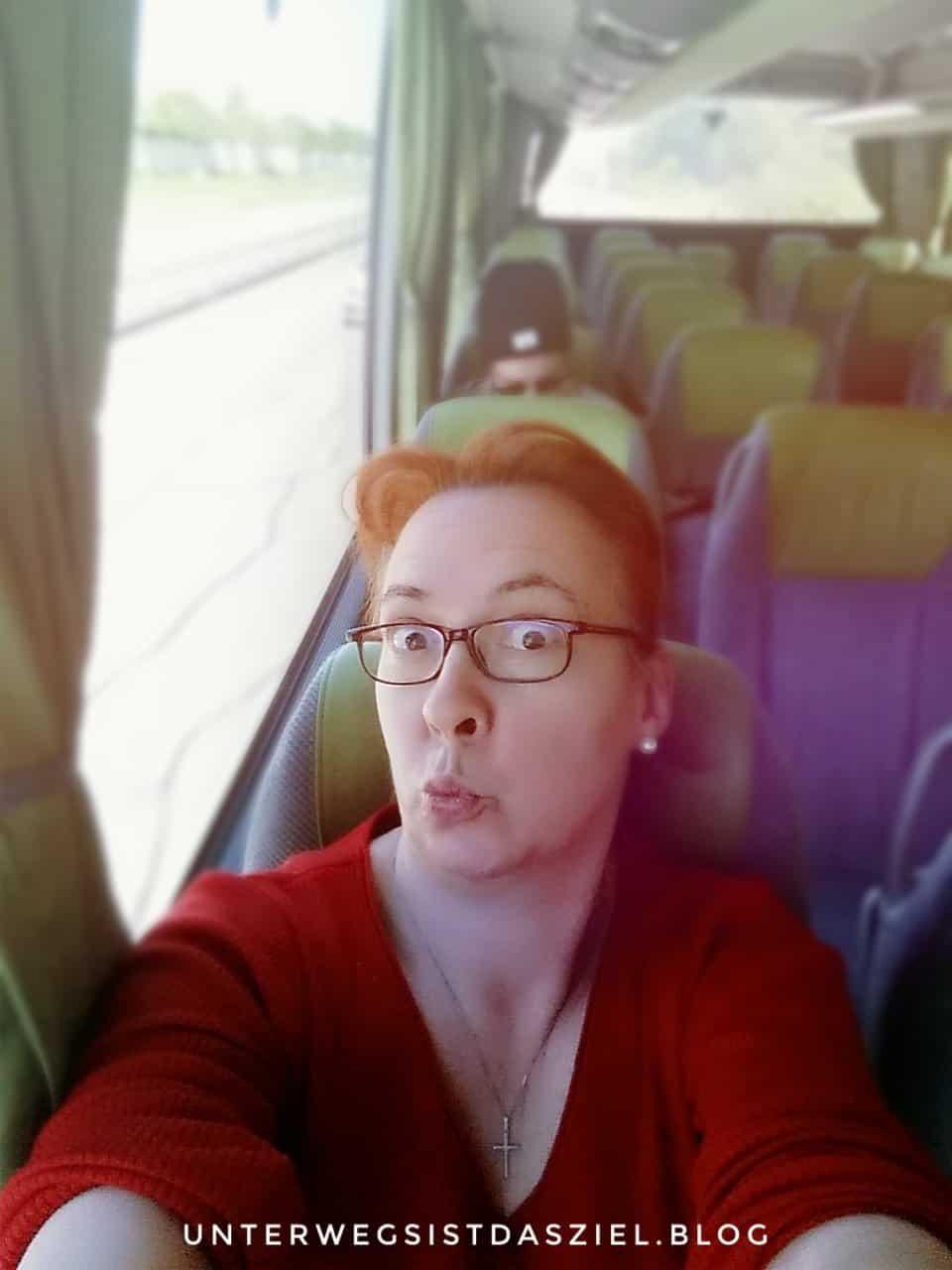 albern im Flixbus