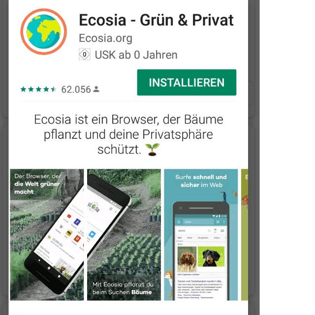 Was ist ecosia.org?