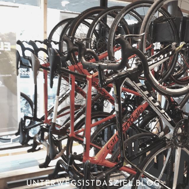 noch mehr Fahrräder zum leihen im Velö in Lörrach