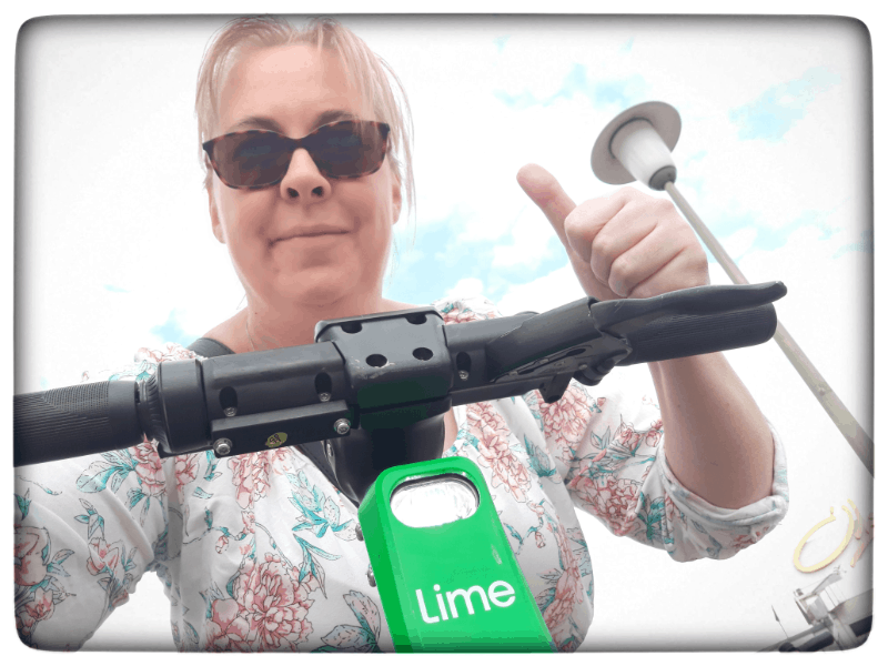 Meine Testfahrt mit dem Elektroroller von Lime