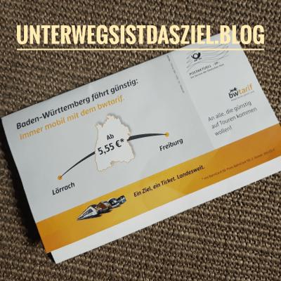 postwurfsendung von baden-würtemberg-tarif