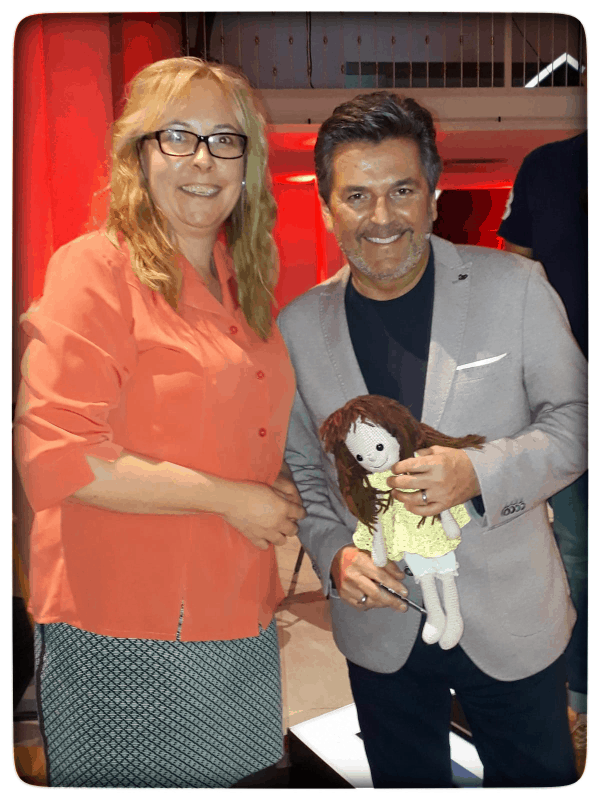 Lilo trifft Thomas Anders