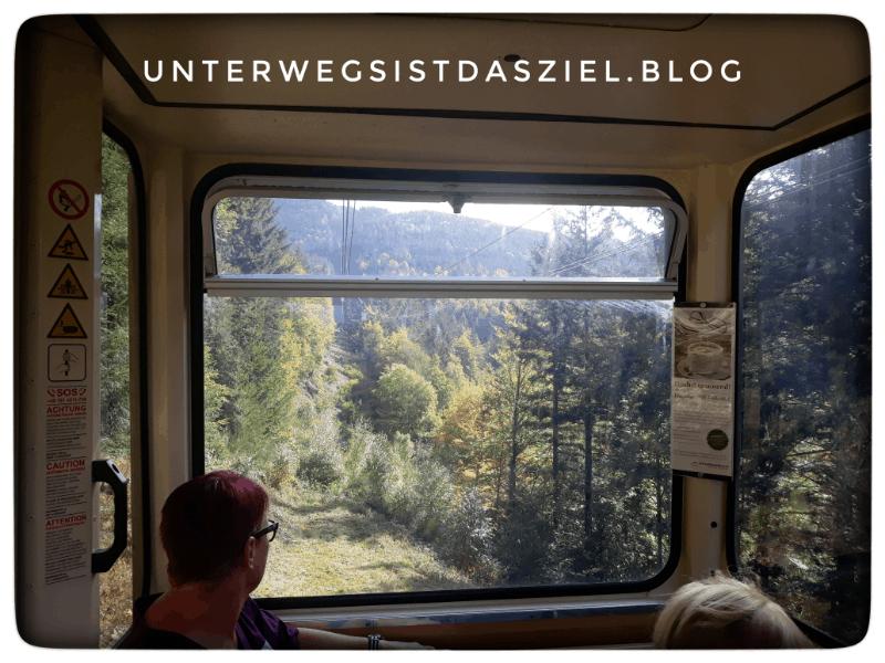die Kabine der Schauinslandbahn Schwarzwald Ausflugsziel