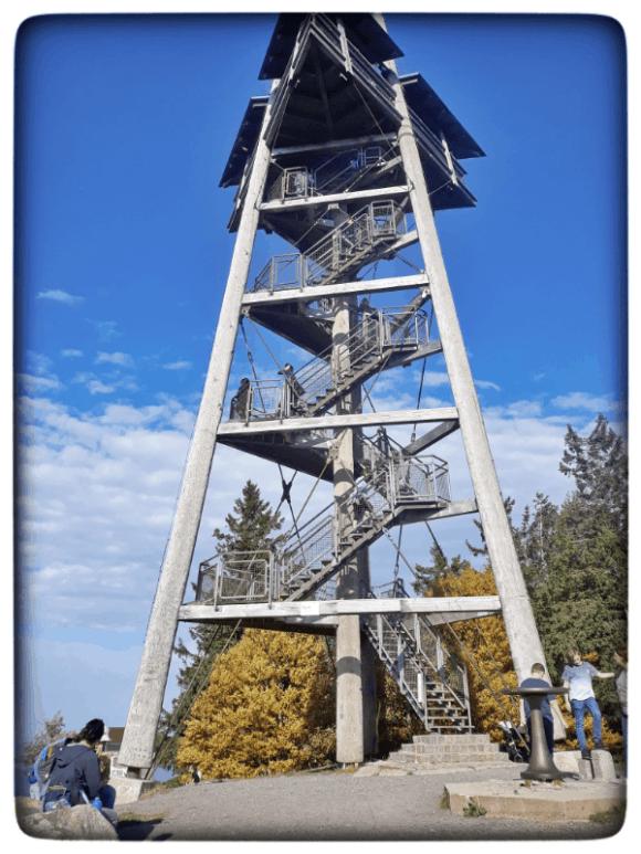 Aussichtsturm auf dem Schauinsland Schauinslandturm Schwarzwald
