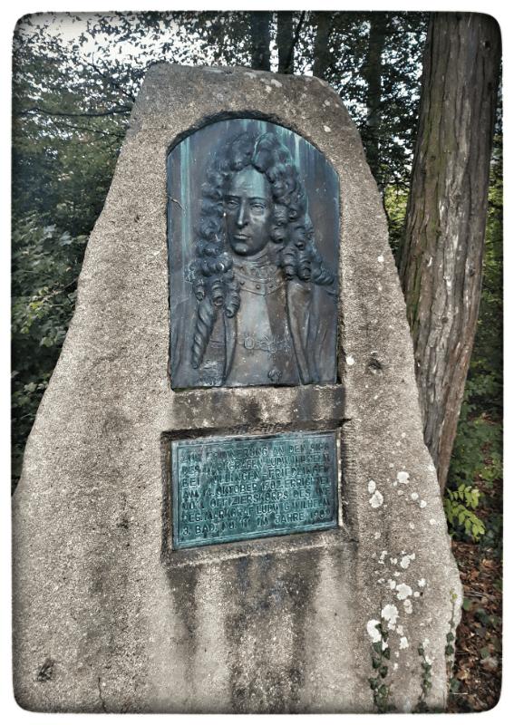 Denkmal auf dem Tüllinger Markgraf Ludwig-Wilhelm