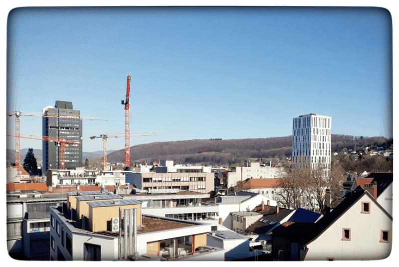 Die höchsten Hochhäuser in Lörrach
