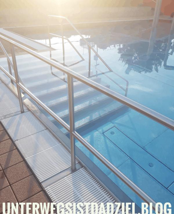Das erste Mal wieder Schwimmbad 2020