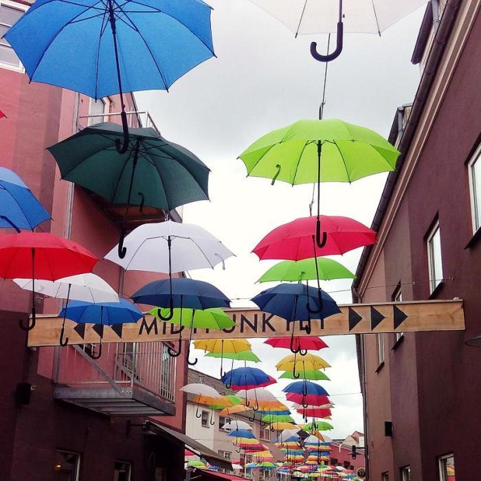 Vejle Midtpunkt Schirme
