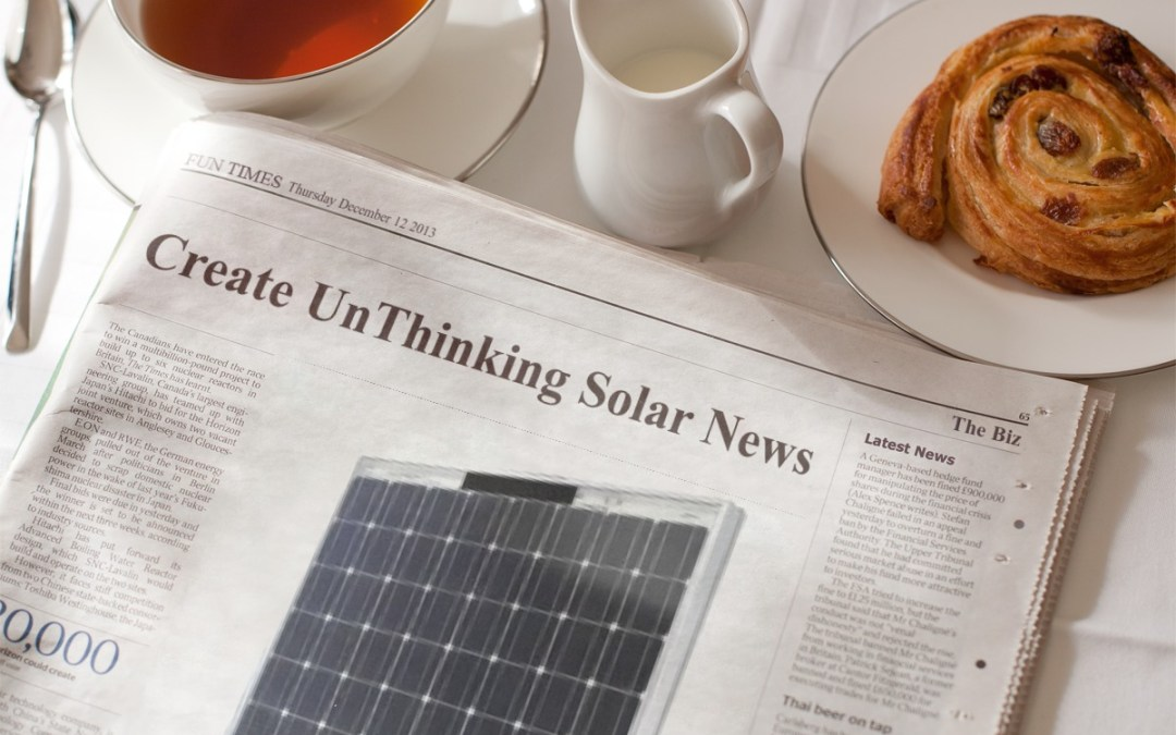 How to Promote Solar—and Help Repeal Fossil Fuel Subsidies: Parody