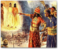 In the midst of the fiery furnace Jesus shows up!