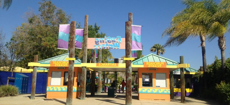 Entrance to Raging Waters