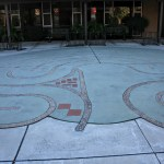 Labyrinth of St Thomas' Episcopal Church of Sunnyvale