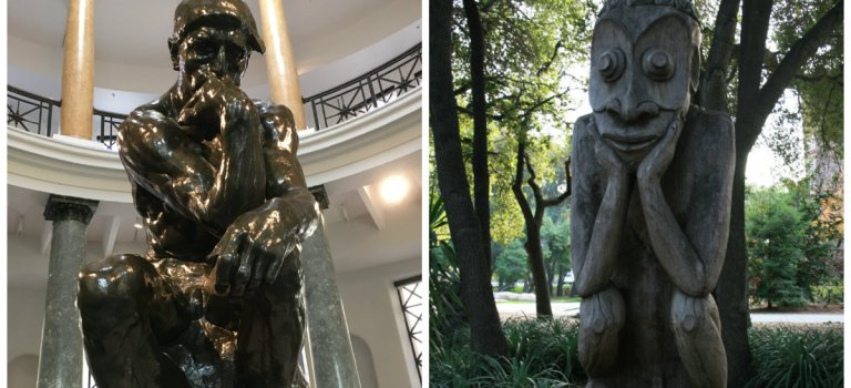 You decide: Rodin vs. Papua New Guinea