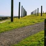 Art installation in Byxbee Park, Palo Alto