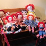 Raggedy Ann and Andy collection at the J. Gilbert Smith House, Los Altos
