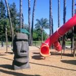 Slide at Las Palmas park in Sunnyvale