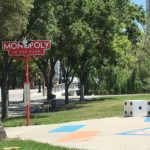 Monopoly in the park in San Jose