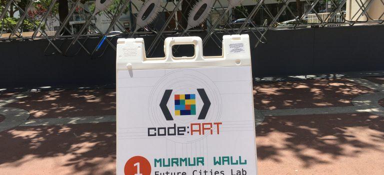 Murmur Wall by Future Cities Lab