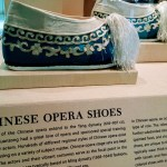 Chinese opera shoes. Part of the Stepping out: Shoes in World Cultures exhibit at the SFO Museum