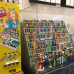PEZ vending machine at the PEZ museum in Burlingame
