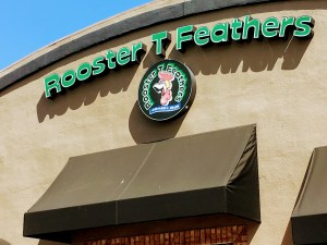 Rooster T. Feathers in Sunnyvale