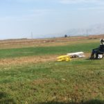 Model airplanes at Baylands Park in Sunnyvale