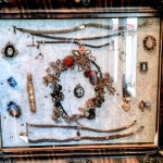 Hair jewelry at the Colma Historic Association