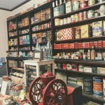 1920s general store at the Museum of American History, Palo Alto