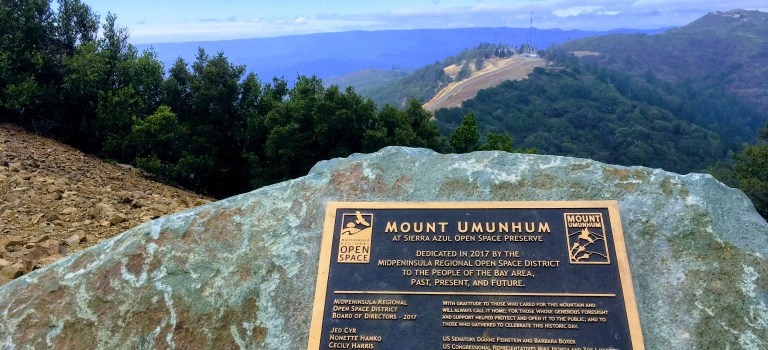 On top of Mount Umunhum