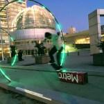 Skater in the Sonic Runway, San Jose