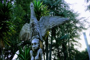 Papua New Guinea Sculpture Garden, Stanford