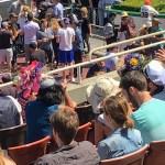 Spectator at Golden Gate Fields, Berkeley